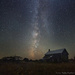 Barn Isn't Lonely with Milky Way as its Friend by taffy