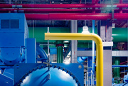 3rd Sep 2021 - Interior Pipes of UofC Chiller Plant