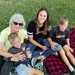 My daughter-in-law, grandsons and me