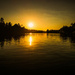 Fool's Hollow Lake, Sunset