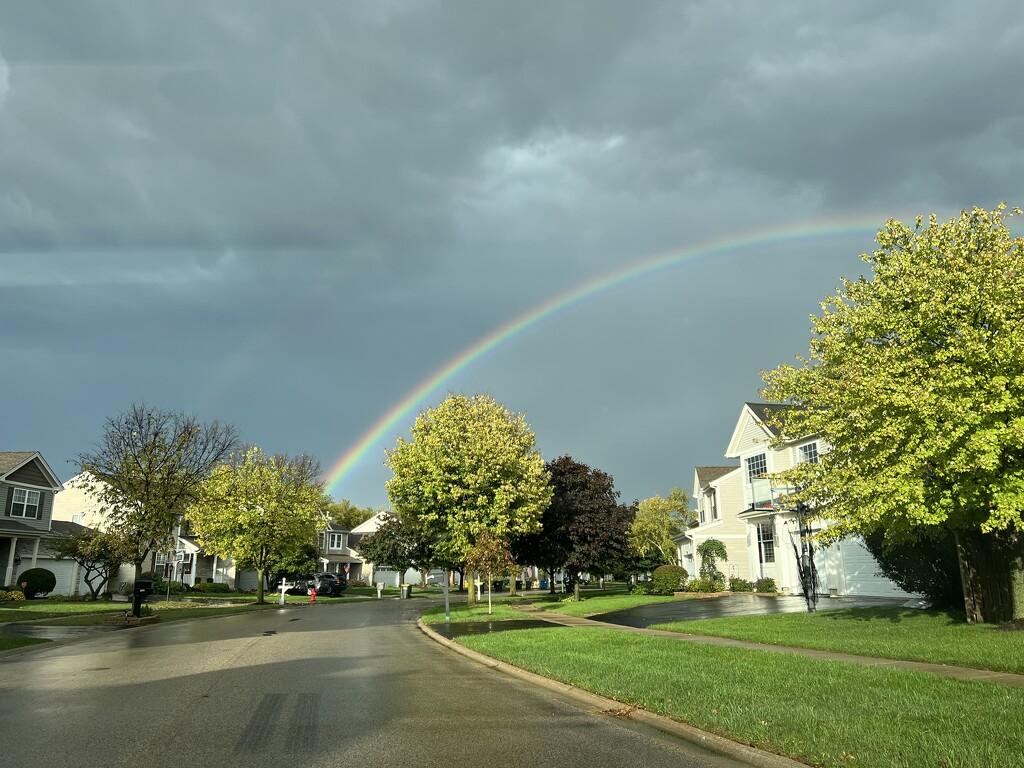 Rainbow on a Gloomy Day by luke85
