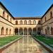 Inside Castello Sforzesco.
