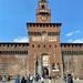 Castello Sforzesco entrance.