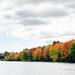 Autumn comes to Estes Lake