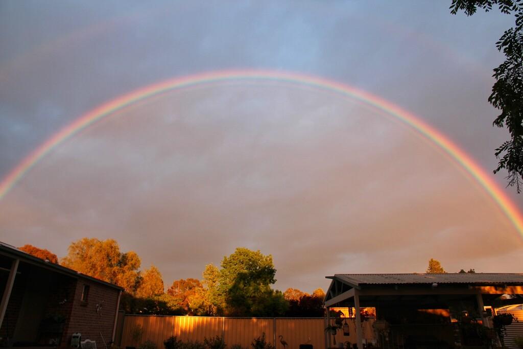 Early morning rainbow by leggzy