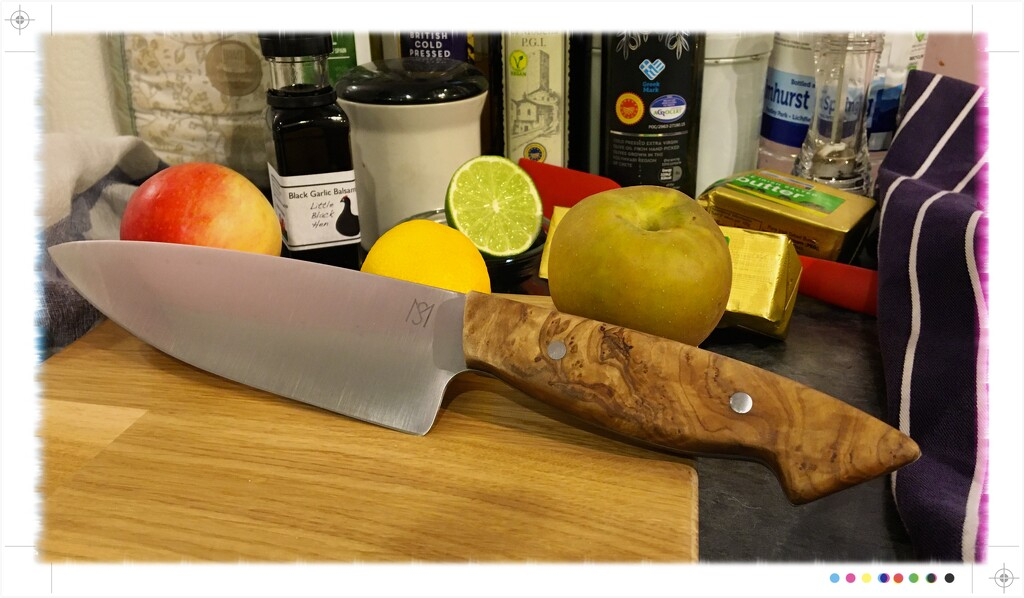 Hand made knife  by phil452