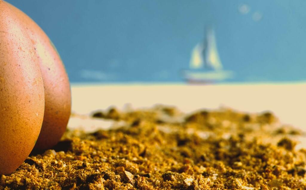 Eggs-hibitionist  by moonbi