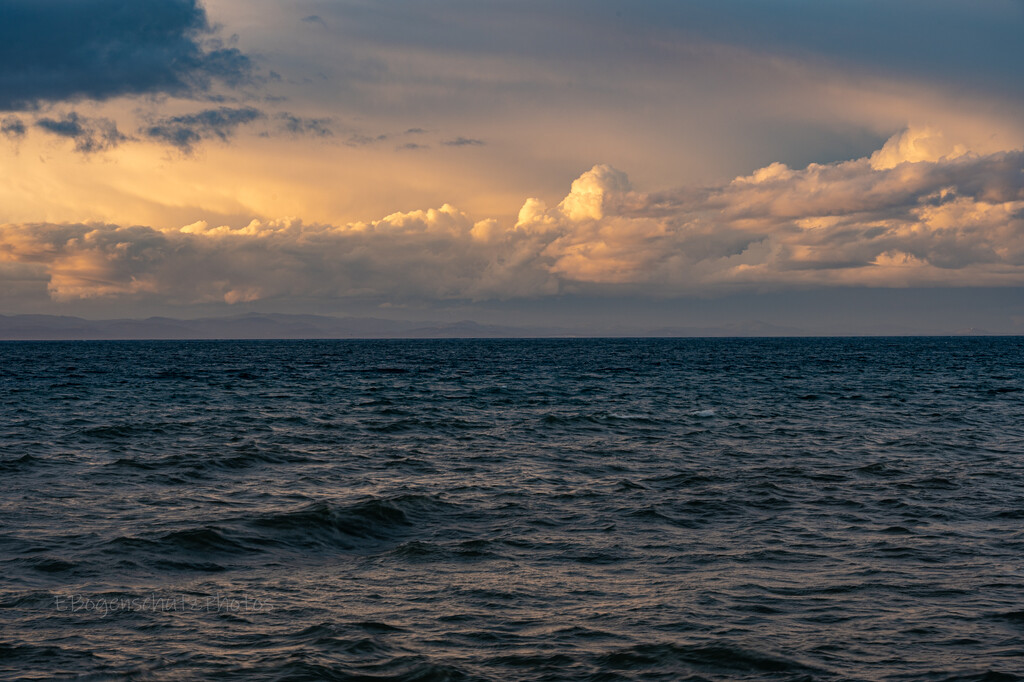 Evening Clouds by theredcamera