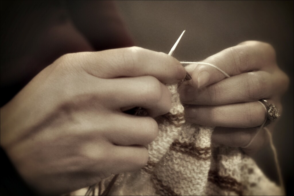 The Hands of a Knitter low color by olivetreeann