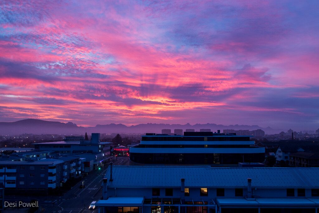 Sunrise from the kitchen by seacreature