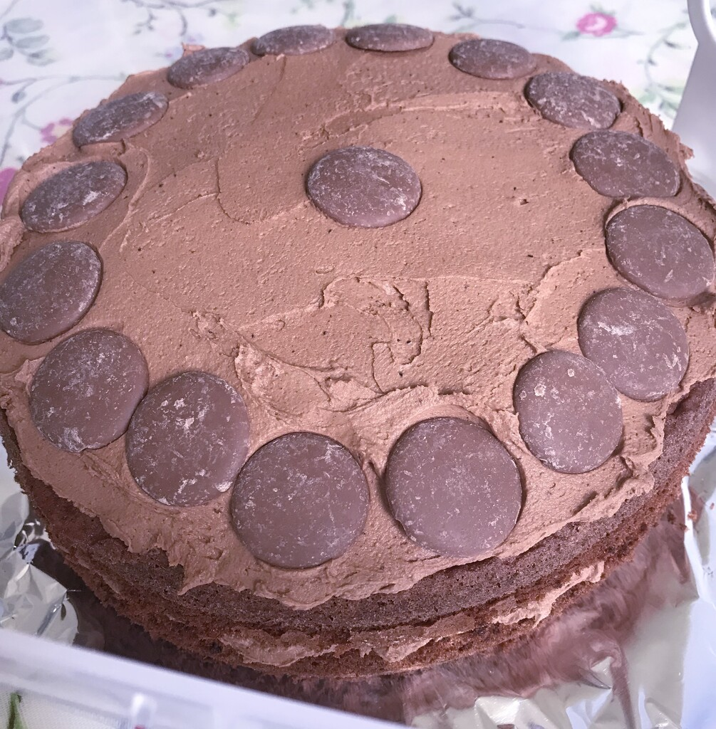 Chocolate cake.... by anne2013