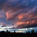 Last night's sky