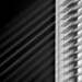 lines of light in black and white