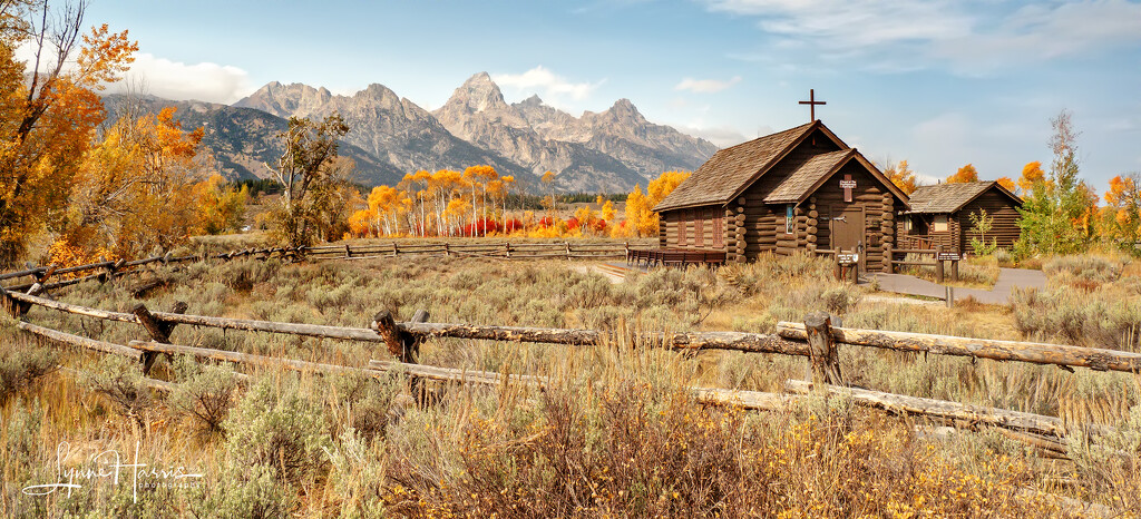 Church in the Tetons by lynne5477