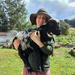 Sarah and her pet sheep