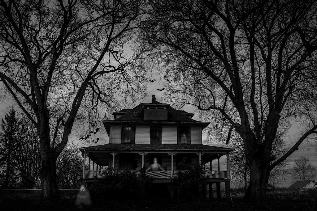 Haunted House by cdcook48