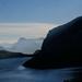 Lake Molveno at sunset