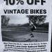 vintage bikes, anyone?