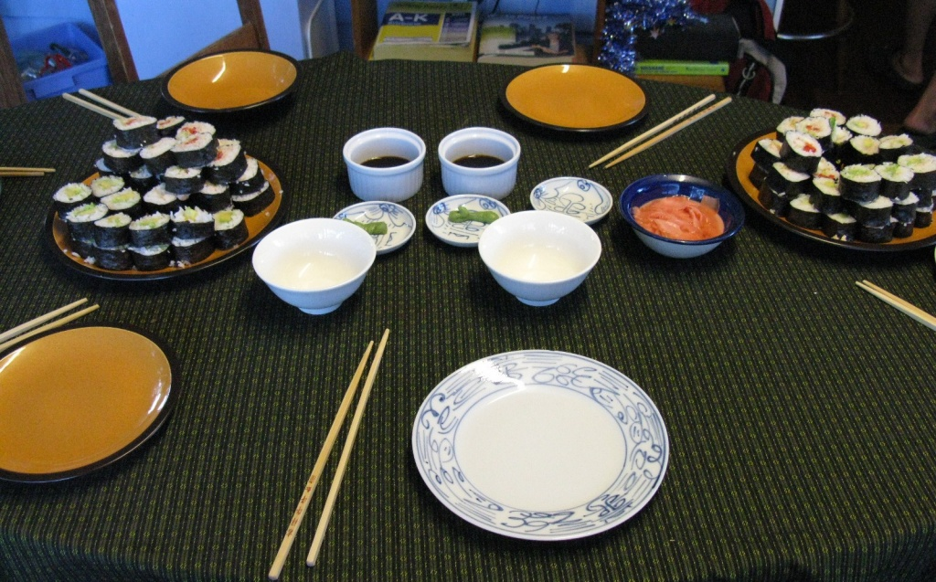 Sushi for Dinner - Yummo by loey5150