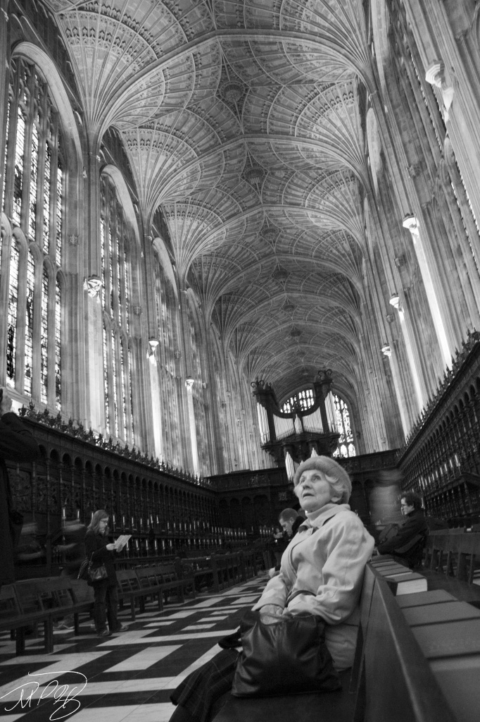 Kings College, Cambridge Chapel by harvey