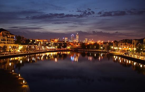 Night Night East Perth by Scrivna