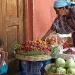 Fruit Vendor and daughter by miranda