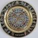 Aztec Calendar on a Plate by mozette