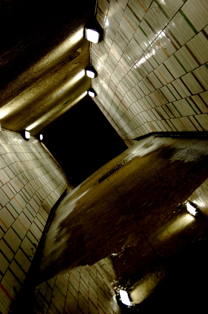 Cruddy Tunnel by andycoleborn