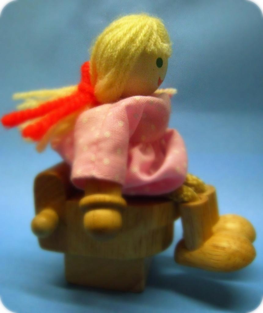 Doll on the loo! by sarahhorsfall